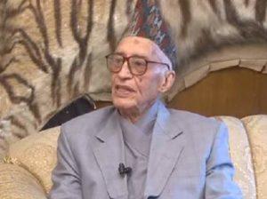 Former Nepal PM Kirti Nidhi Bista passes away