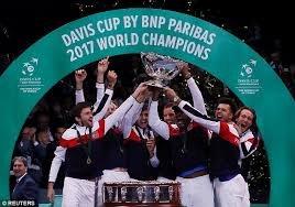 France beat Belgium to claim its 10th Davis Cup