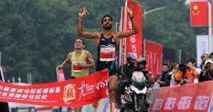 Gopi Thonakal wins gold in Asian Marathon Championship