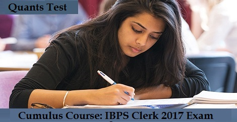 Cumulus Course - IBPS Clerk 2017 - GA Test
