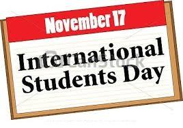 International Students Day - November 17