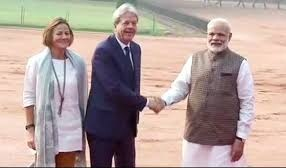 Italy PM Paolo Gentiloni's visit to India