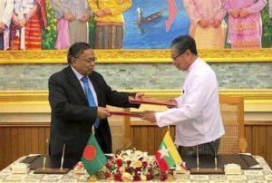 Myanmar, Bangladesh sign deal for return of Rohingya Muslims