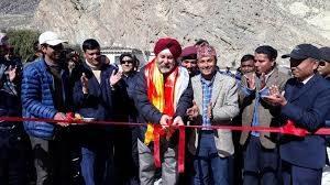Nepal opens bridge built with India's help near China border