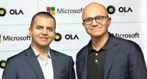 Ola inks partnership with Microsoft for enhanced passenger experience
