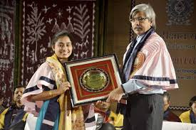 Olympic gymnast Dipa karamakar conferred with D.Litt. degree from NIT Agartala
