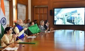 PM Modi flagged off Bandhan Express & Inaugurates two bridges