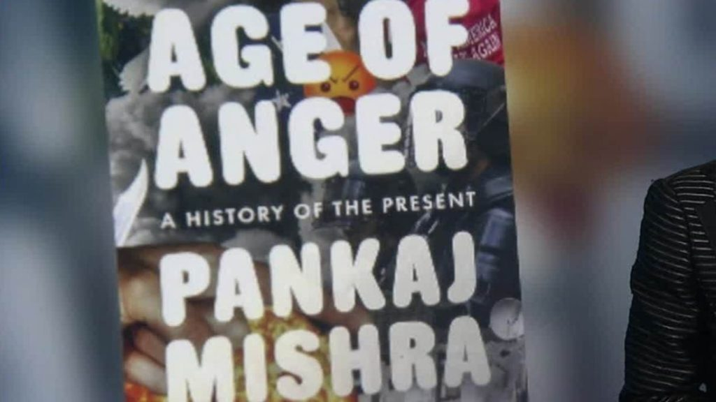 Pankaj Mishra Age of Anger - A History of the Present named as Best Book of the year