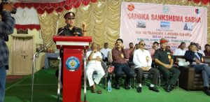 Sainik Sankshema Sabha to be organised in all districts of Andhra and Telangana