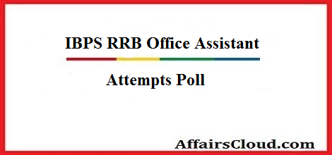 ibps-rrb-oa-attempts poll
