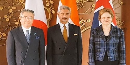 4th India-Australia-Japan Trilateral Dialogue held in New Delhi