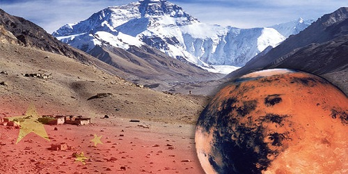 China to build Mars village in Qinghai Province