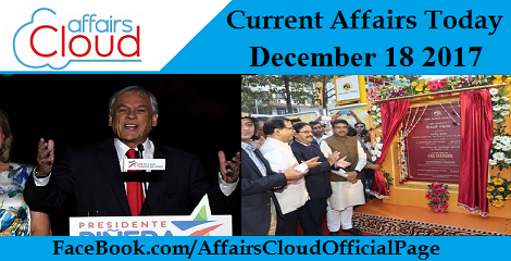 Current Affairs Today - December 19 2017