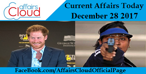 Current Affairs Today -December 28 2017