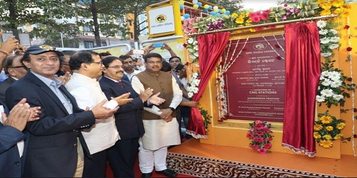 Eastern India's first CNG stations inaugurated in Bhubaneswar