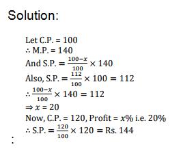 IBPS Clerk Prelim Test - Quants Day 3 Q9Ans