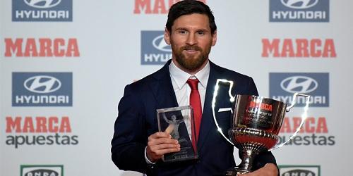 Lionel Messi bags Marca's award for best player in La Liga 2016-2017 season