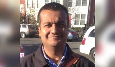 Raj Shah becomes first Indian-American to hold press briefing aboard Air Force One