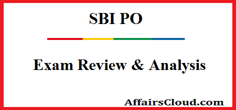 SBI PO Exam Review