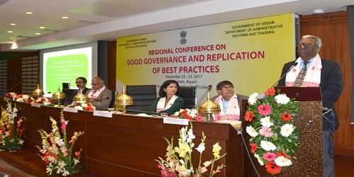 Two Day Regional Conference on Good Governance held in Guwahati