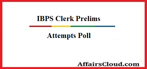 ibps-clerk-prelims-attempts poll