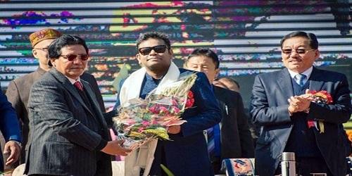 A R Rahman named brand ambassador of Sikkim
