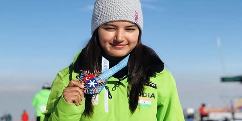 Aanchal Thakur becomes first Indian to win an international medal in skiing