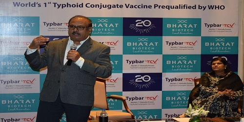 Bharat Biotech's typhoid vaccine gets WHO pre-qualification