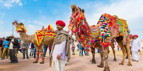 Bikaner camel festival 2018 in Rajasthan