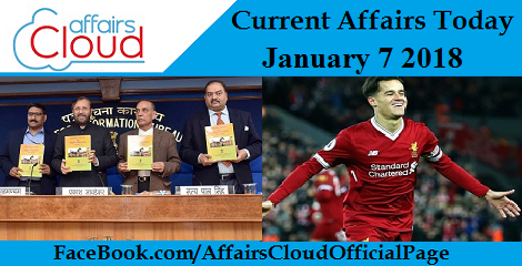 Current Affairs Today - January 7 2018