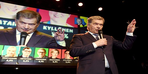 Finland re-elects Sauli Niinisto as its President