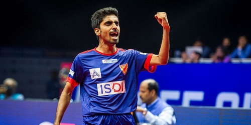 G Sathiyan becomes India's highest ranked player in latest ITTF rankings