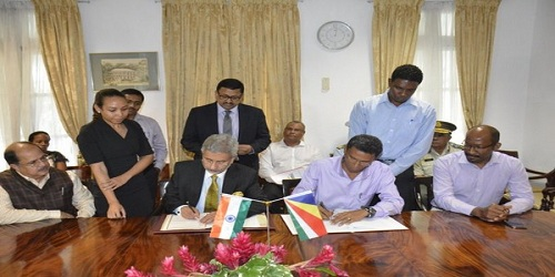 India, Seychelles sign revised agreement over military infrastructure
