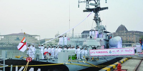 Indian Navy decommissions warships INS Nirbhik and INS Nirghat