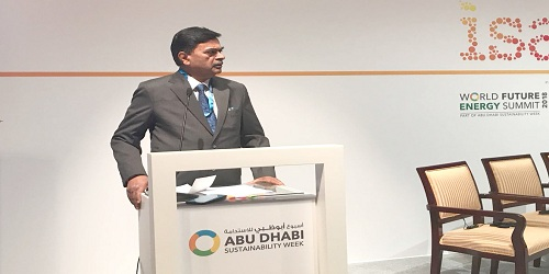 International Solar Alliance Forum held at WFES in Abu Dhabi