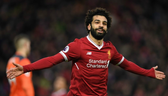Mohamed Salah named Arab football player of the year 2017