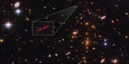"NASA discovers farthest known galaxy in the universe ""SPT0615-JD"""