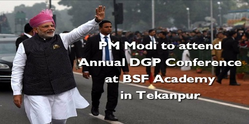 PM Narendra Modi attends Annual DGP Conference at BSF Academy in Tekanpur
