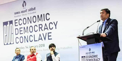President of India Inaugurates Economic Democracy Conclave in Maharashtra