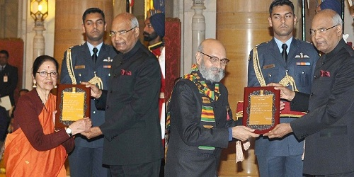 President of India presents Sangeet Natak Akademi Awards for 2016