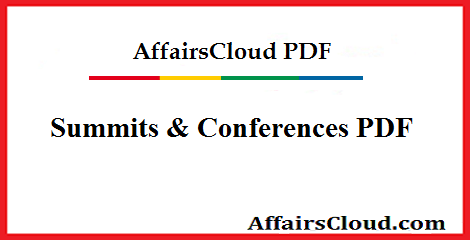 Summits & Conferences 2019 PDF - August Updated