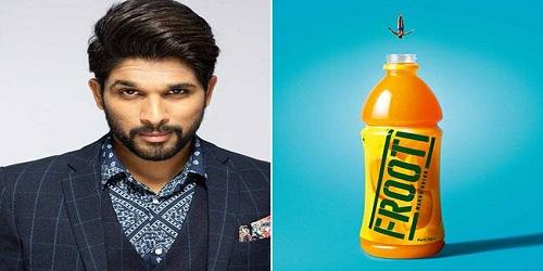 Telugu filmstar Allu Arjun appointed Frooti brand ambassador
