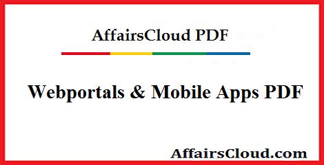 Webportal & mobile apps