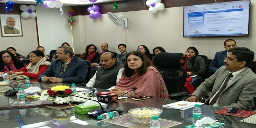 Women & Child Development Minister Maneka Gandhi inaugurates online portal NARI