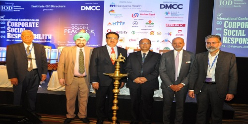 12th International Conference on corporate social responsibility held in Bengaluru
