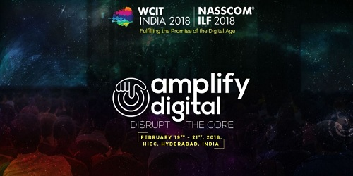 22nd edition of World Congress on Information Technology (WCIT) and 26th edition of Nasscom India Leadership Forum (ILF) held in Hyderabad