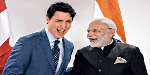 Canada PM Justin Trudeau's visit to India - Overview
