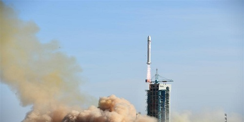 China launches electromagnetic satellite to study earthquake precursors