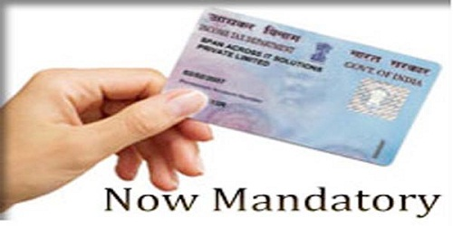 Government makes PAN mandatory for transactions over Rs. 2.5 lakh