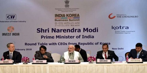 India-Korea Business Summit 2018 held in New Delhi